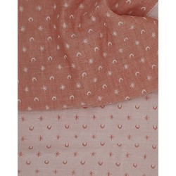 Breton stripes Bleus & Rouge (1m50 panel)
