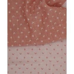 Marinière Bleus & Rouge (panneau 1m40)