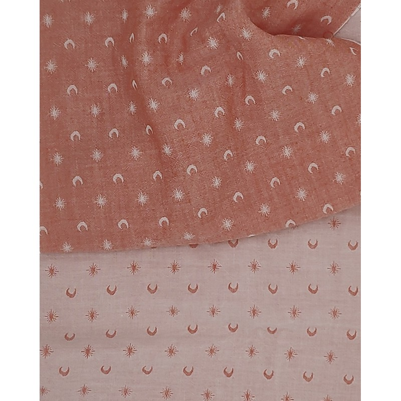 Breton stripes Bleus & Rouge (1m50 panel)
